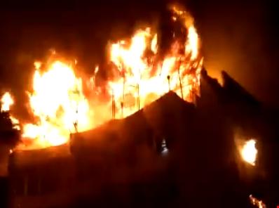 Incendio en un hotel de Nueva Delhi dejó 17 muertos