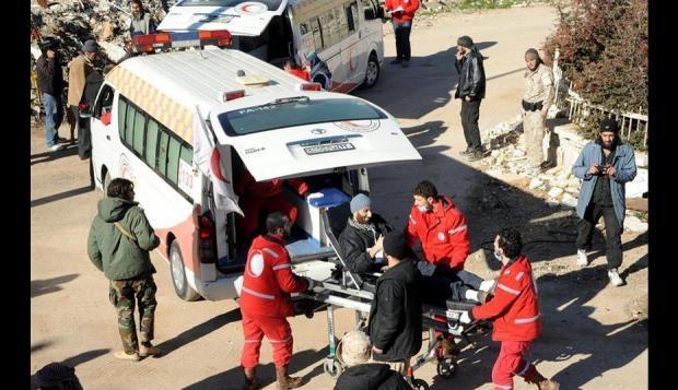 Siete muertos y 40 heridos por el disparo de cohetes en Siria