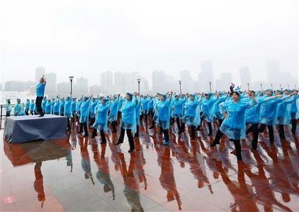 Más de 31,000 chinas fijan récord mundial de baile