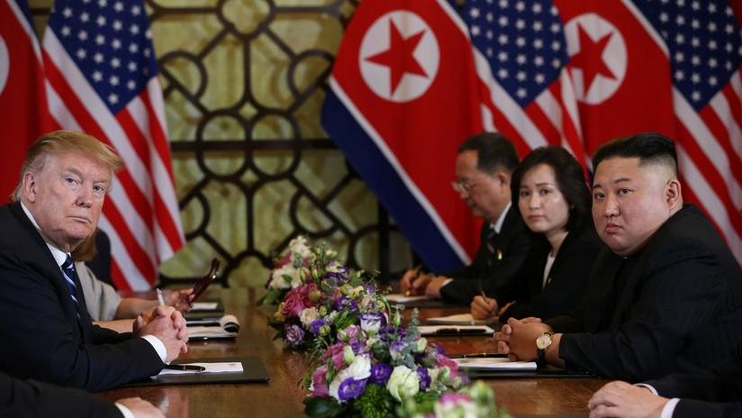 Donald Trump y Kim Jong-un en Hanói, Vietnam, 28 de febrero de 2019 Leah Millis / Reuters