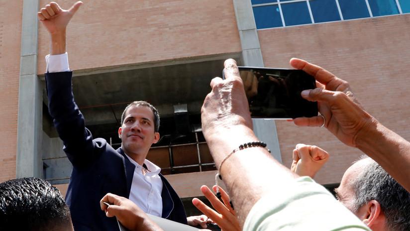 Guaidó regresa a Venezuela a través del aeropuerto de Maiquetía (VIDEO)
