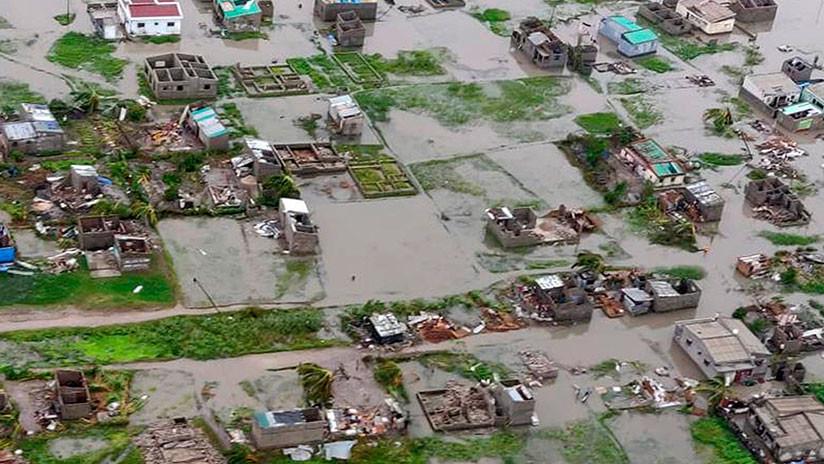 El número de muertos por el ciclón Idai en Mozambique podría superar el millar