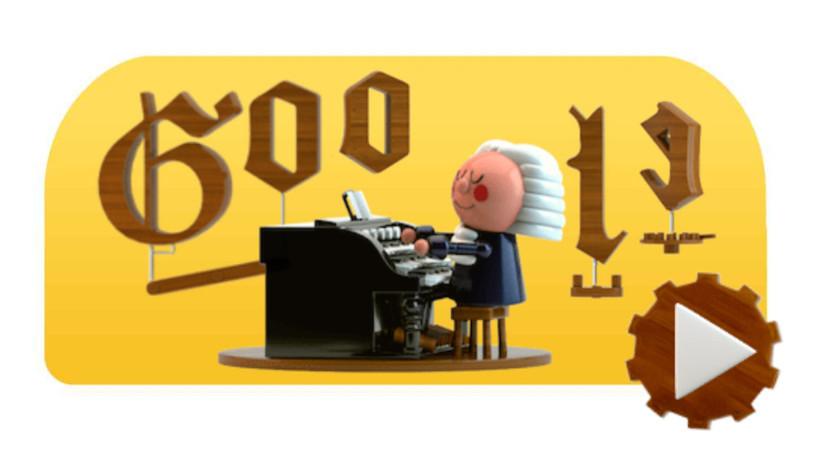 Google te 'convierte' en un Bach en el primer 'doodle' basado en inteligencia artificial