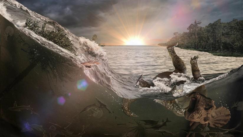 (Fotos): Así fue el último día de los dinosaurios: un campo en EE.UU. revela sus secretos