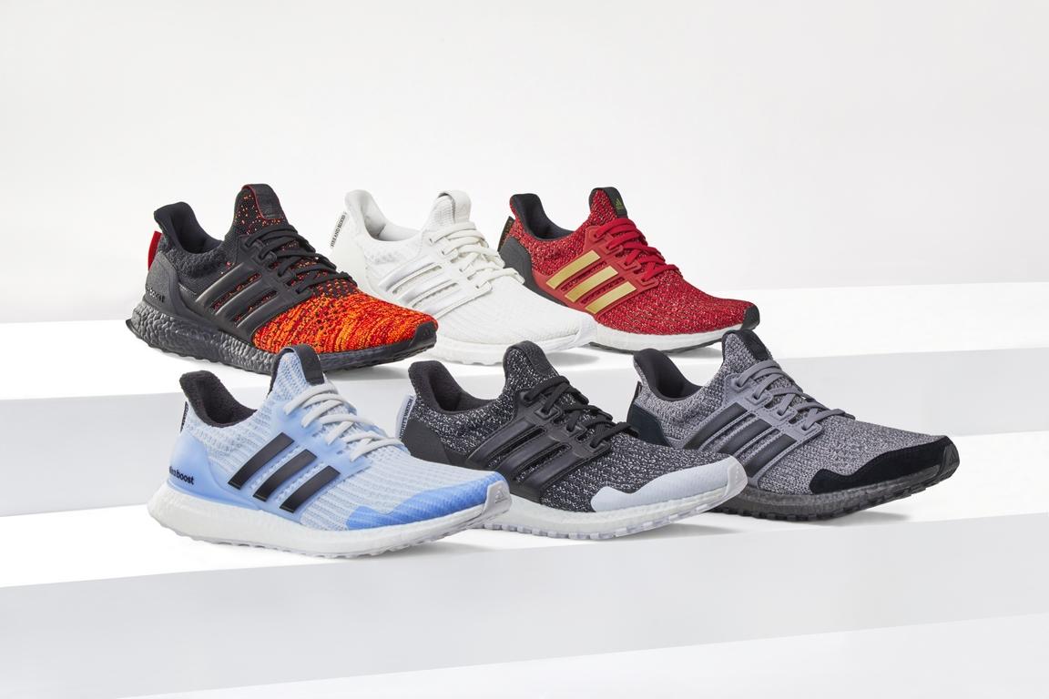 Adidas Running presenta una colaboración con Game Of Thrones que incluye seis modelos de Ultraboost de edición limitada