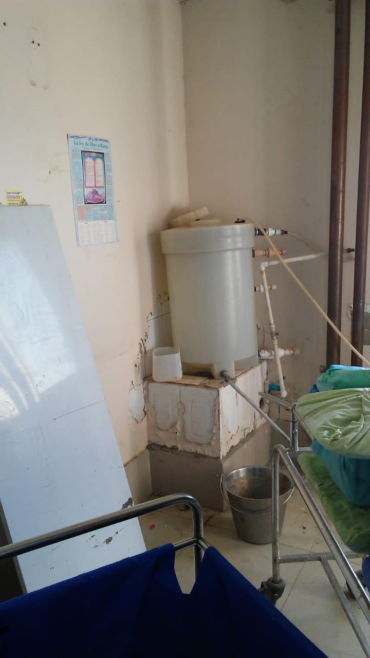 Denuncian condiciones deplorables del hospital Moscoso Puello