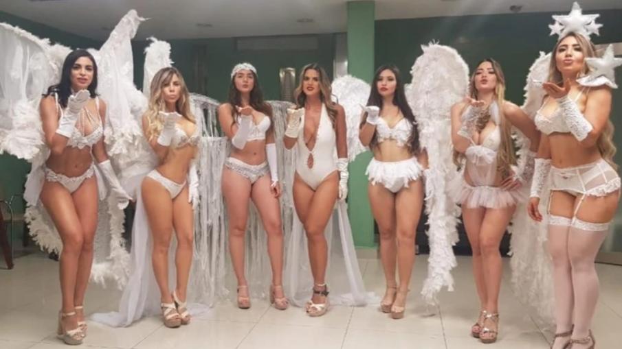 La inusual conmemoración de la Expropiación Petrolera en Veracruz con un desfile en lencería al estilo Victoria's Secret