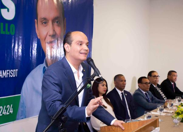 Ramfis Domínguez Trujillo dice apoyará candidaturas independientes de alcaldes, diputados y regidores