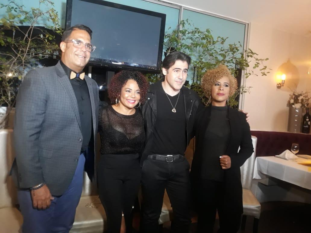 """Desde Broadway a la Sala Ravelo, Cheddy y José Guillermo juntos en """"Una Intrusa a Media Noche"""""""