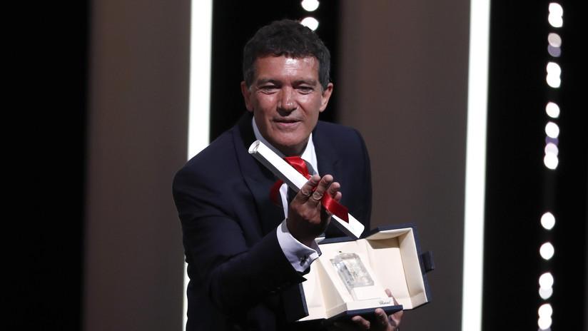 Antonio Banderas gana premio al mejor actor del Festival de Cannes por su papel en 'Dolor y Gloria'