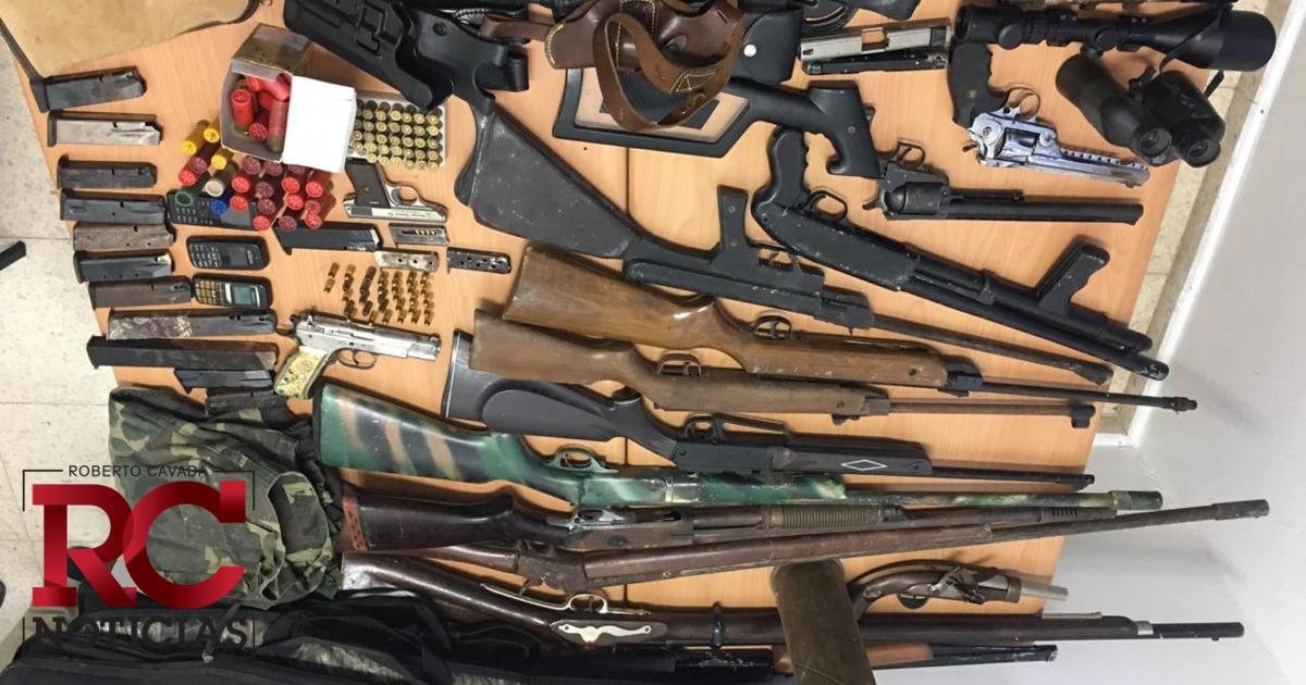 Armas de fuego recuperadas serán destruidas en próximos días en presencia de la OEA