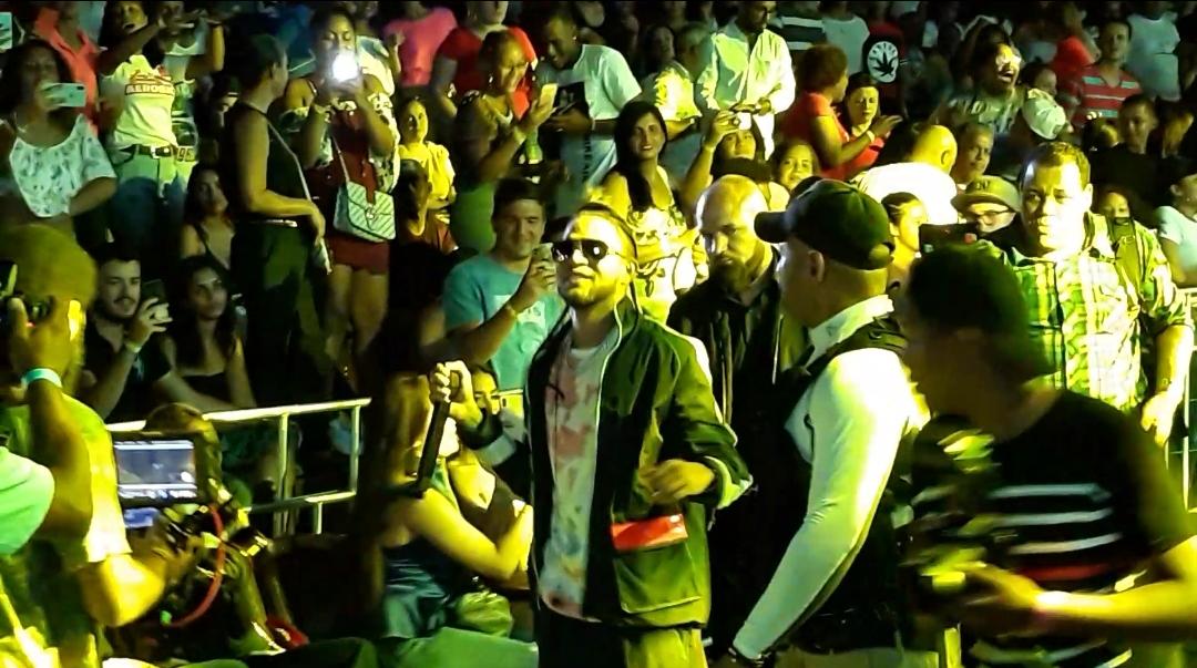 Mozart La Para realiza concierto lleno de sorpresas en Puerto Plata