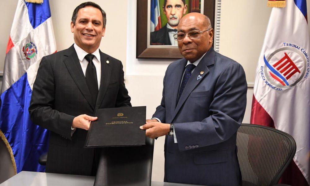 Tribunal Constitucional y Consejo del Poder Judicial suscriben acuerdo de colaboración