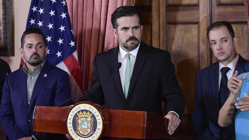 Renuncia Ricardo Rosselló, gobernador de Puerto Rico