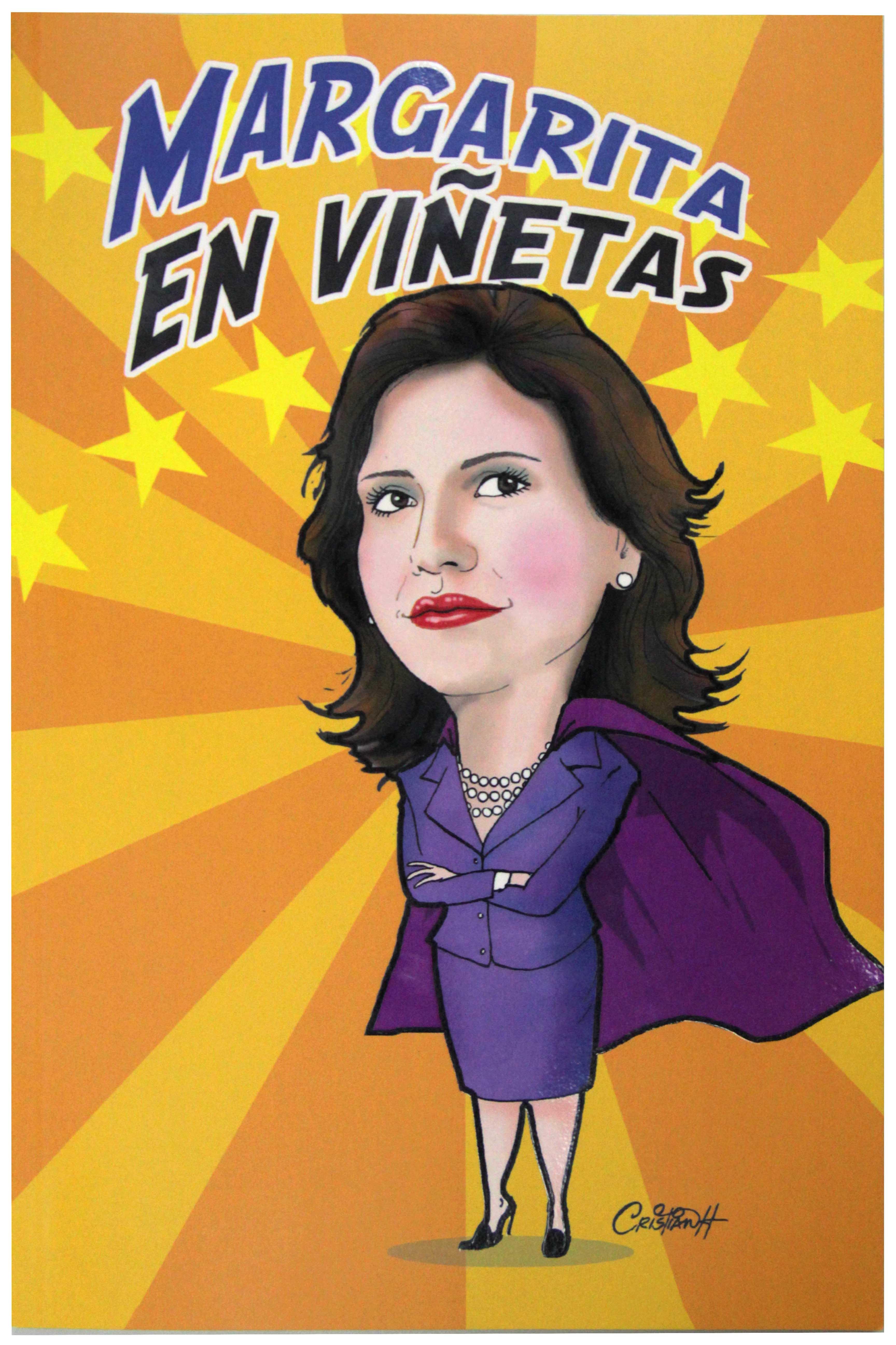 Circula Margarita en Viñetas, una compilación de caricaturas dedicadas a la Vicepresidenta
