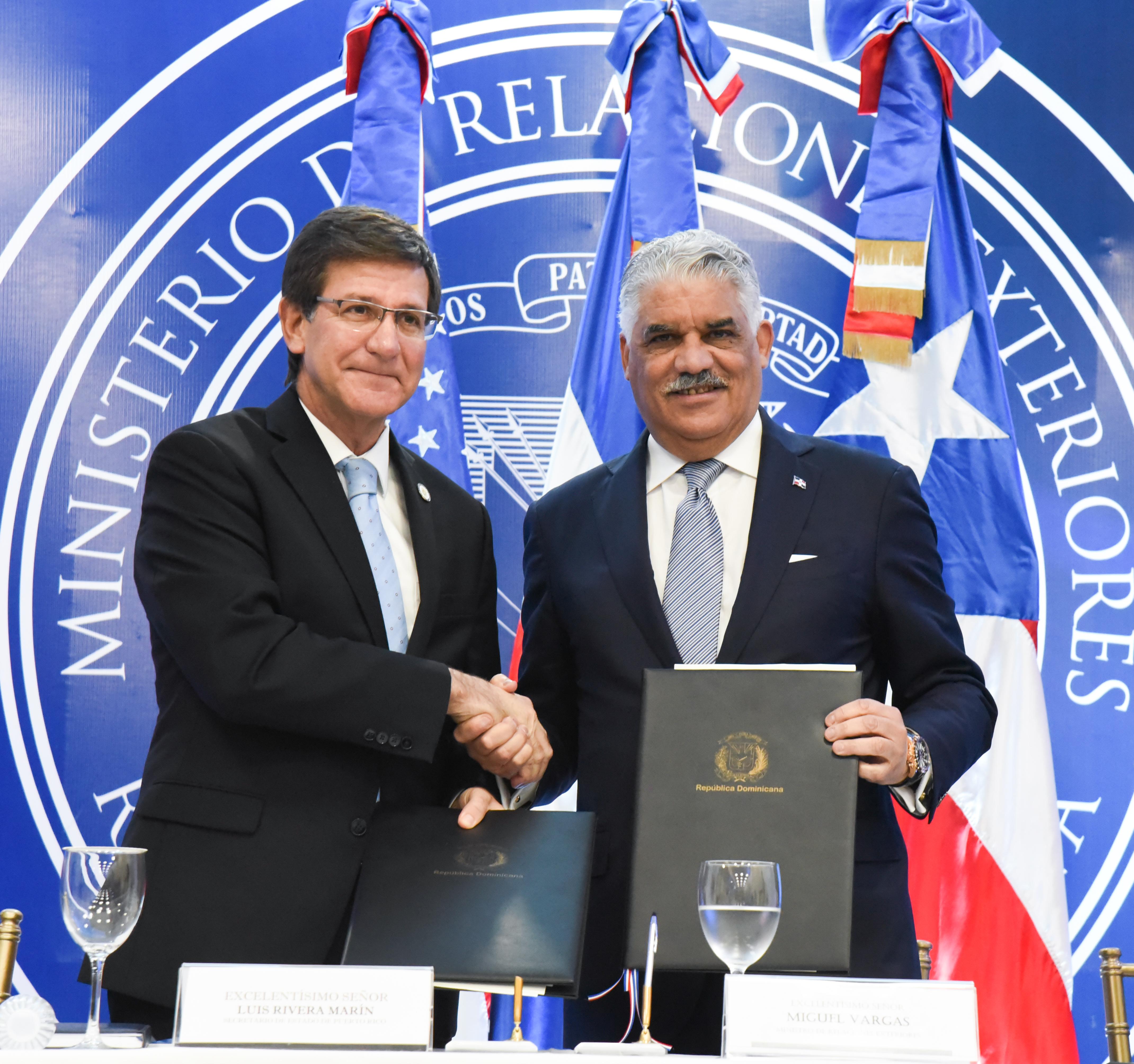 Canciller Miguel Vargas anuncia República Dominicana y PR solicitan EE. UU. elimine tarifa importación acero