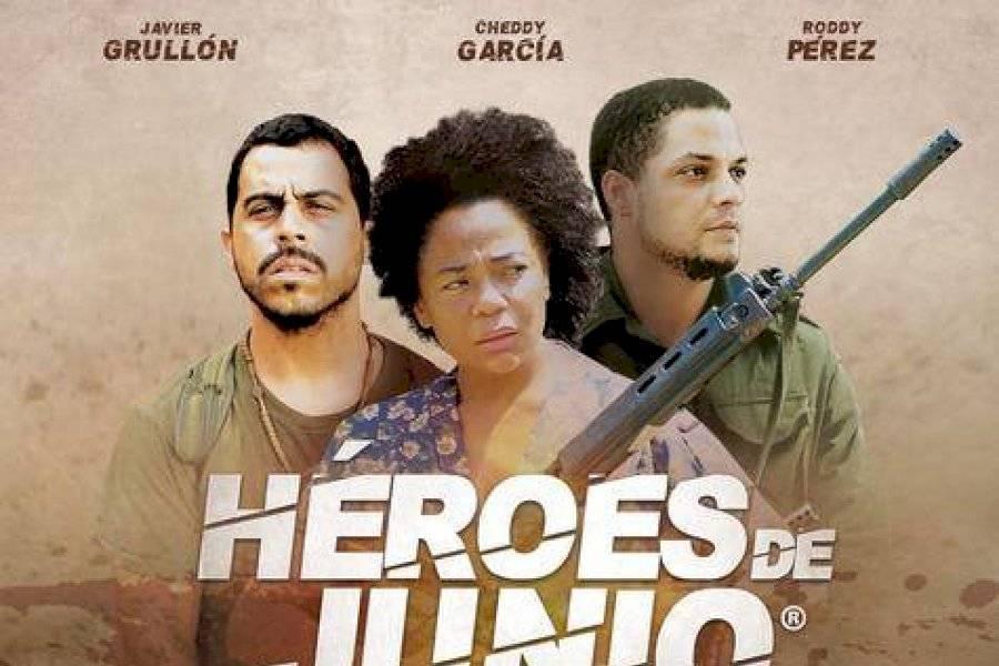 """Realizan premier de la nueva película dominicana """"Héroes de Junio"""""""