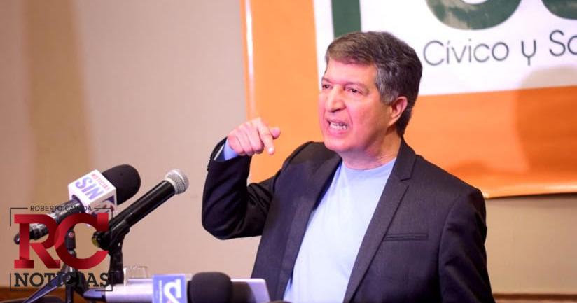 Frente Cívico y Social sugiere eliminar fondos a partidos políticos