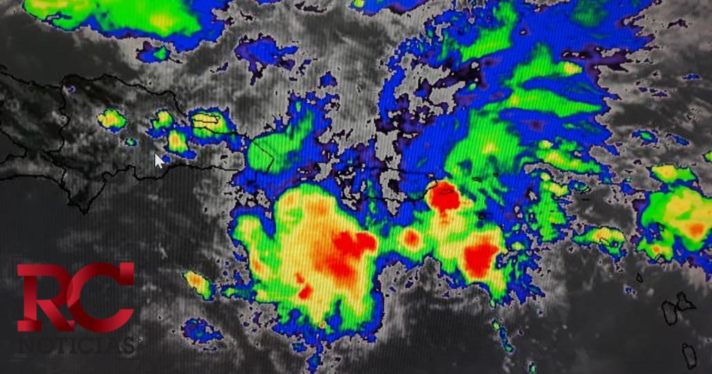 Onamet mantiene en vigencia aviso de probables condiciones de tormenta tropical sobre el país