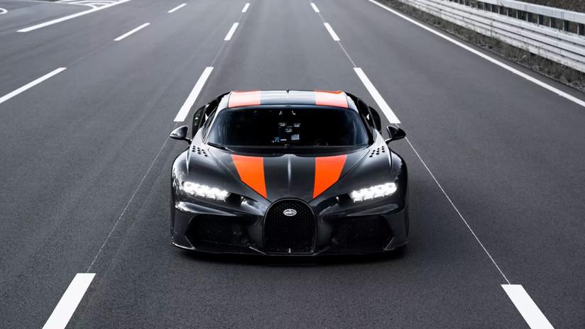 (Video): Un Bugatti Chiron logra superar la barrera de los 490 km/h