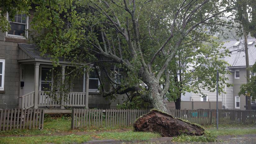 PRIMERAS IMÁGENES: Dorian causa daños e inundaciones en Canadá