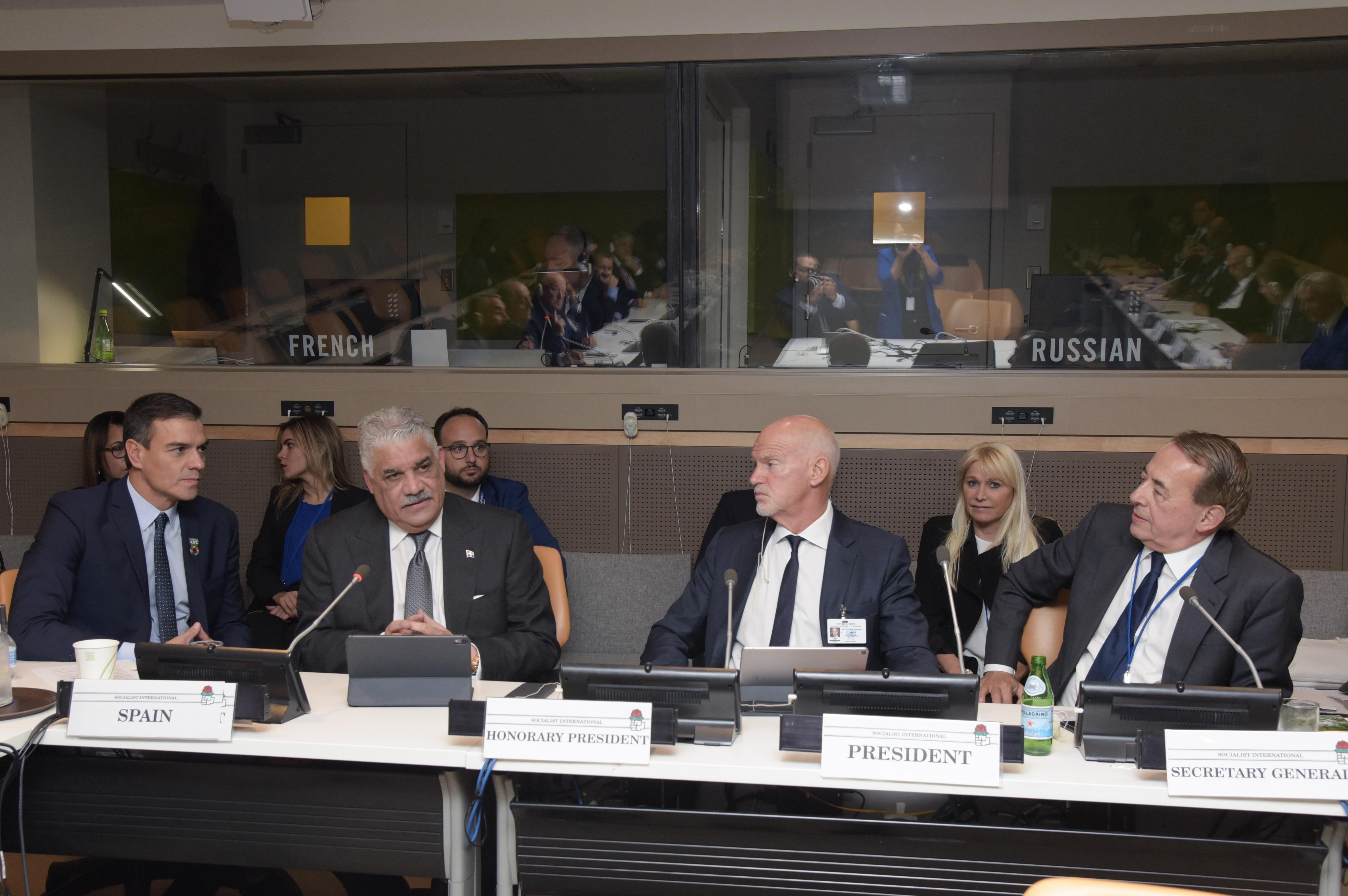 Presídium Internacional Socialista (IS) realiza importante cónclave en la ONU