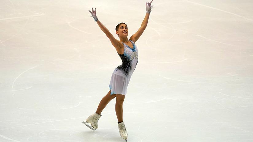La patinadora rusa Aliona Kostornaya establece un nuevo récord mundial en Japón