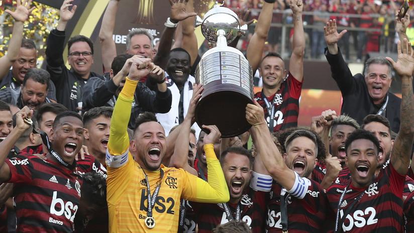 El Flamengo vence al River Plate y gana la Copa Libertadores