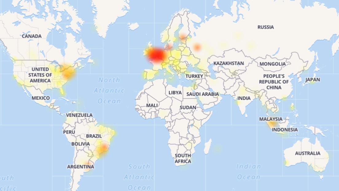 Reportan la caída de Instagram y Facebook en varias partes del mundo