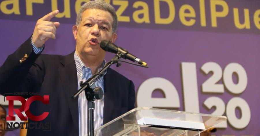 Leonel encabezará caravana este domingo en el Gran Santo Domingo, SDE y SDO en apoyo a candidatos municipales