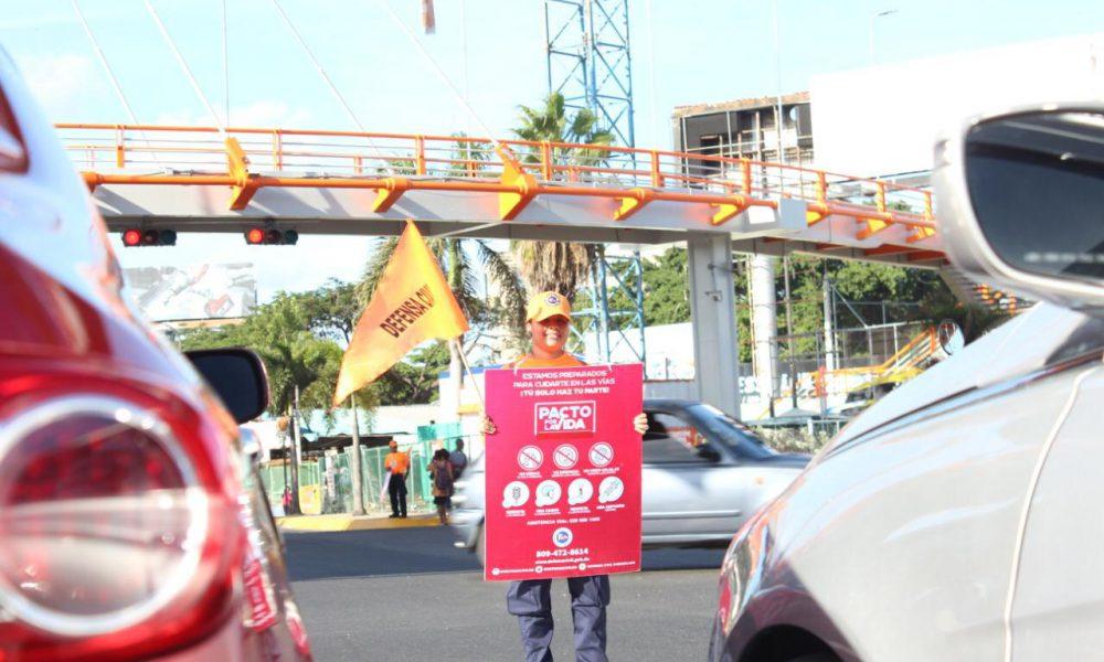 Defensa Civil realiza bandereo preventivo previo a operativo Navidad Segura 2019