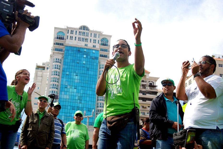 Marcha Verde: Por un Sistema Judicial que castigue la corrupción