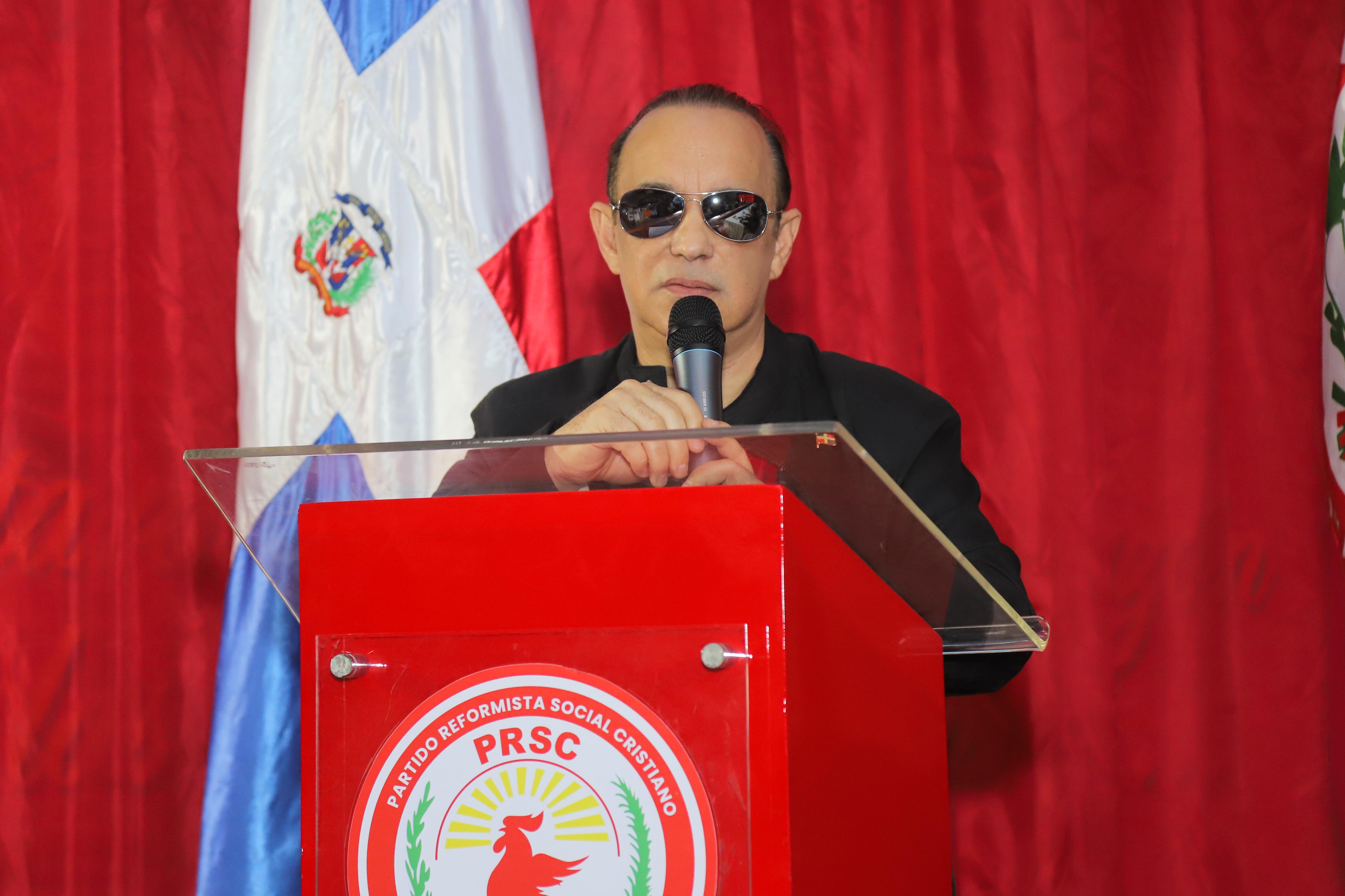 """PRSC define acto de """"irresponsabilidad e inhumano"""" hablar de celebrar elecciones en corto plazo"""