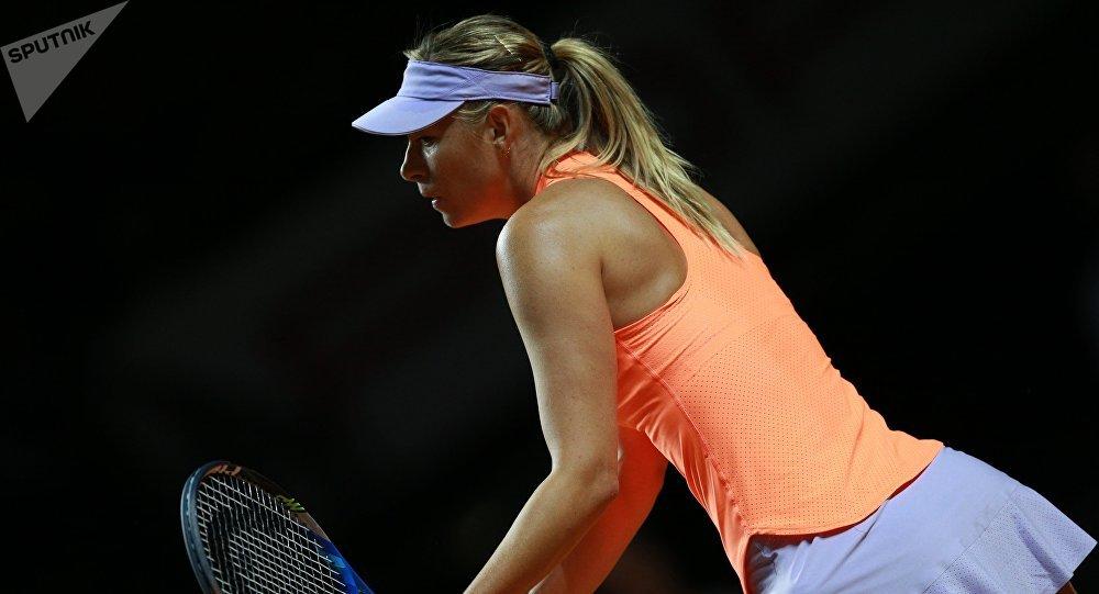 Tenista rusa María Sharápova da por finalizada su carrera deportiva