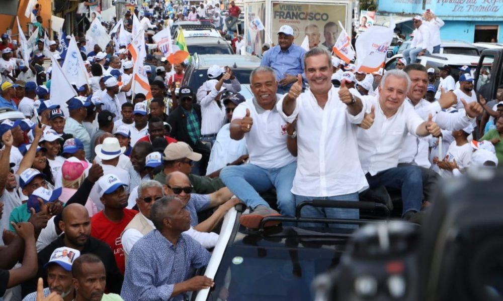 Abinader asegura PRM y aliados tienen los votos necesarios para ganar en mayoría de municipios