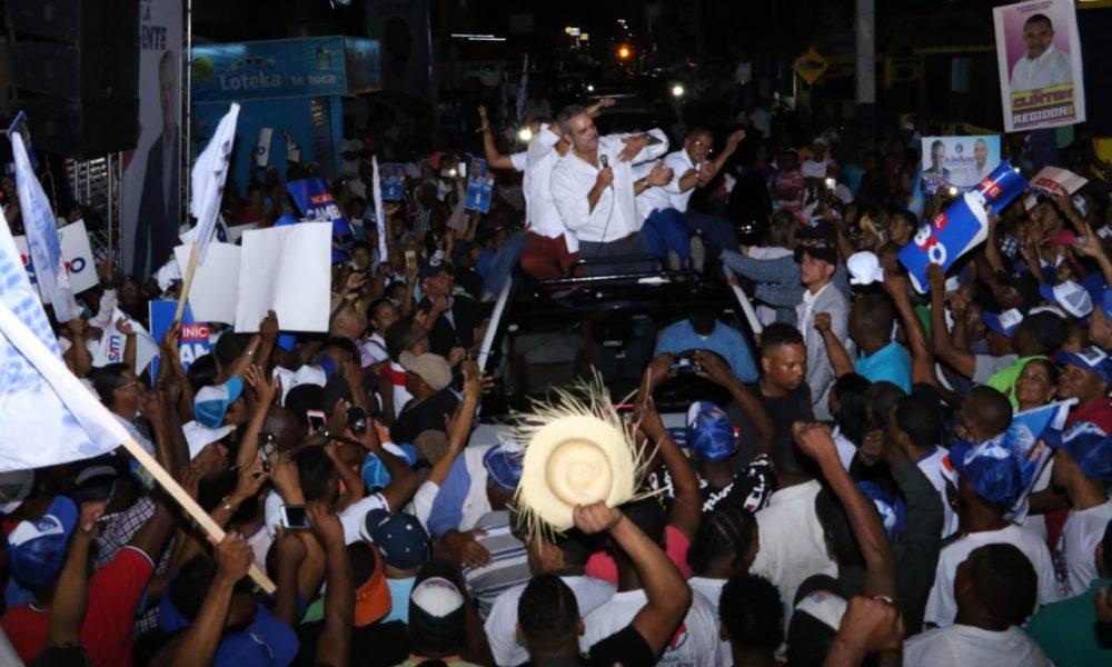 Luis afirma el pueblo dará un mensaje claro a funcionarios prepotentes y abusadores del PLD, de que se van