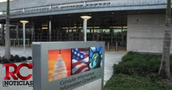 Embajada de Estados Unidos en RD informa que estará cerrada este jueves