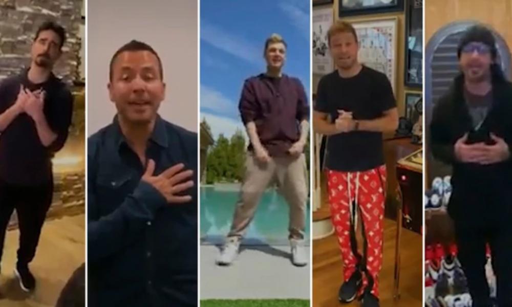 El video vírico de los Backstreet Boys cantando desde sus casas para disputar el coronavirus
