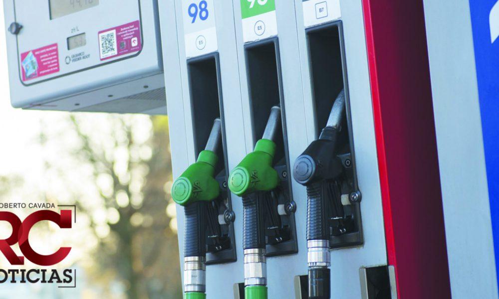 Suben todos los combustibles menos el GLP