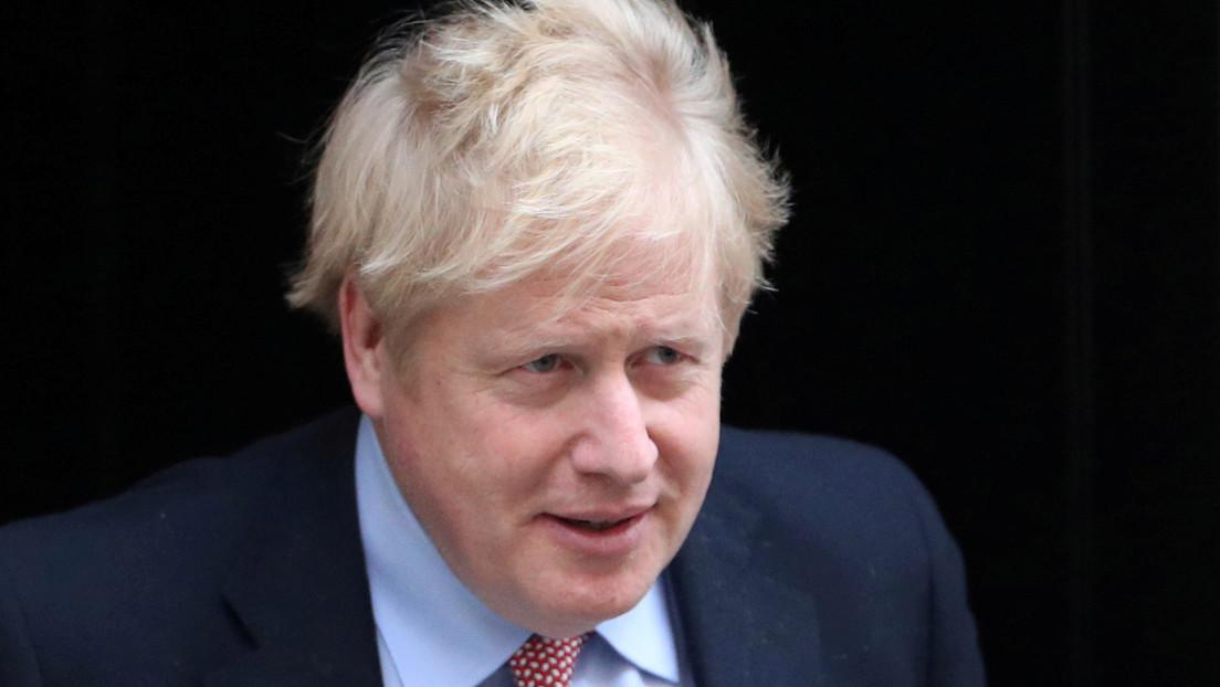 Boris Johnson es hospitalizado 10 días después de dar positivo al Covid-19