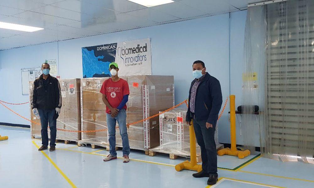 Venda de Zonas Francas realiza nuevas donaciones de dispositivos médicos y gel antimaterial