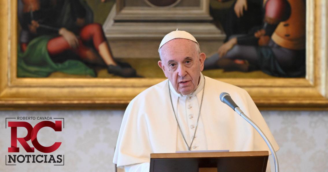"""El papa condena que haya """"demasiadas guerras"""" durante la pandemia"""
