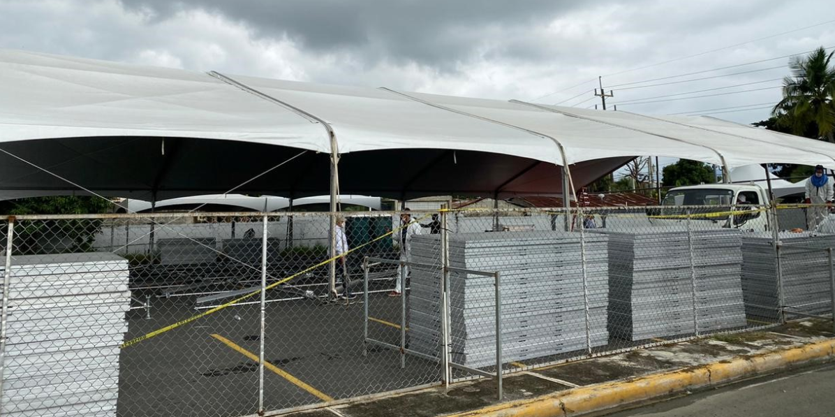 PRM inicia instalación Hospital en la Vega