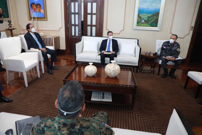 Vídeo   Danilo Medina encabeza reunión de evaluación cumplimiento protocolos en primera fase desescalada