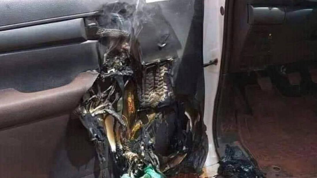 Esto es lo que puede pasar si dejas desinfectante de manos en el interior de un vehículo