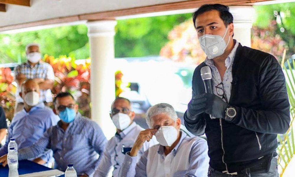 Roberto Ángel Salcedo promueve integración de la juventud en este proceso electoral