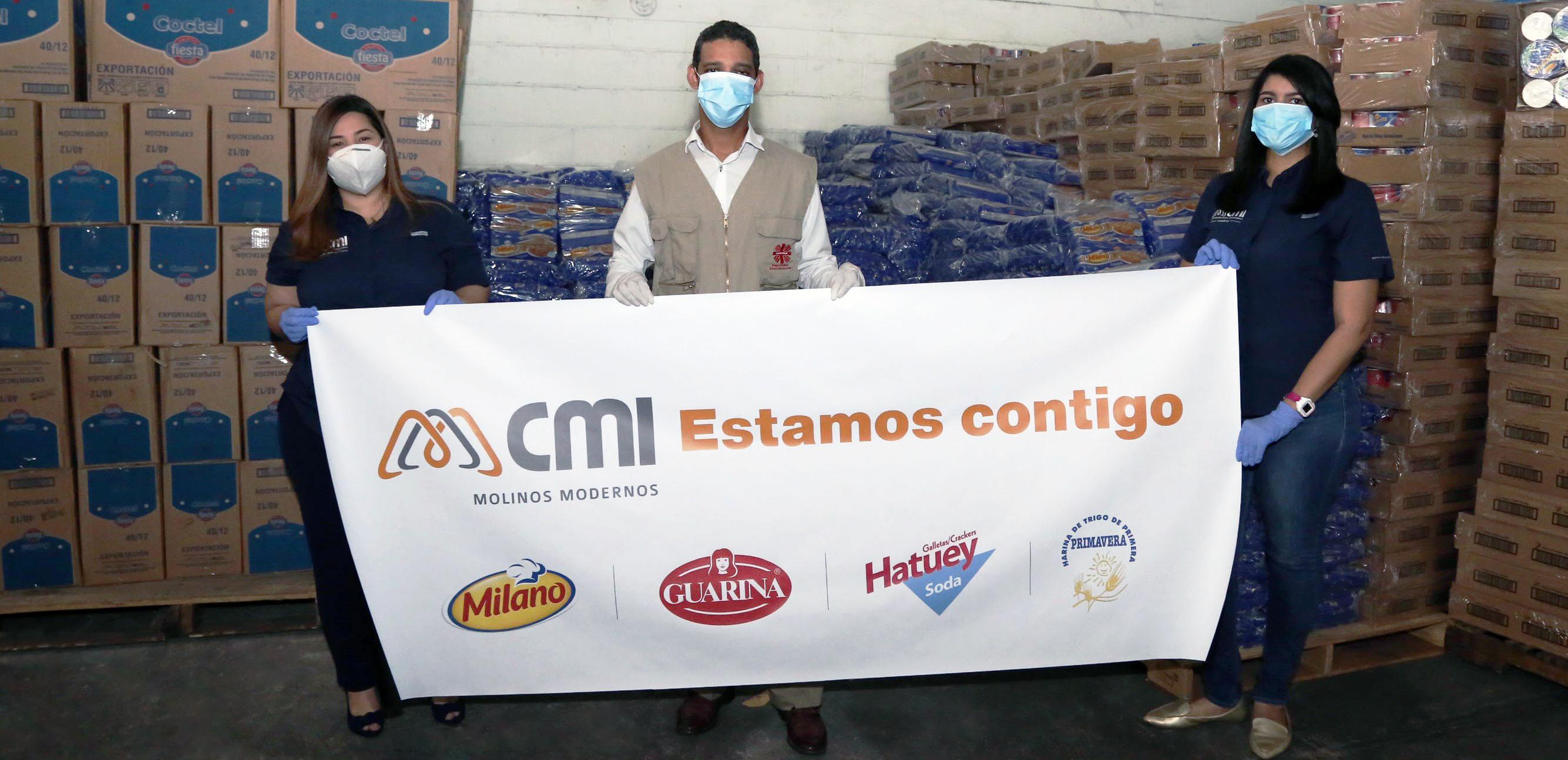 CMI Molinos Modernos realiza donación de alimentos a los más necesitados
