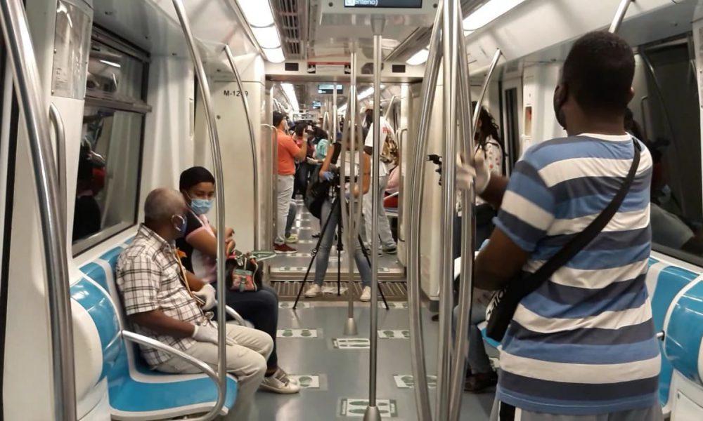 Videos | Metro de Santo Domingo inicia a operar con un 25 % de su capacidad máxima