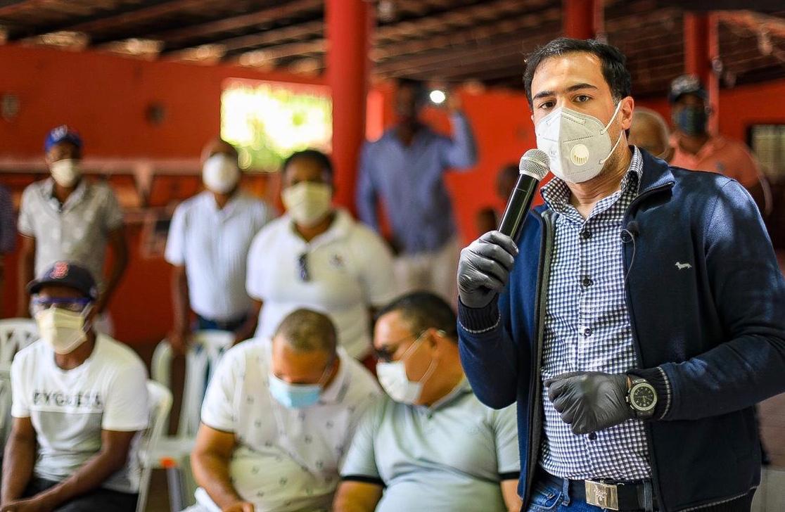 Robertico Salcedo asegura Luis Abinader resolverá problema del agua en Azua
