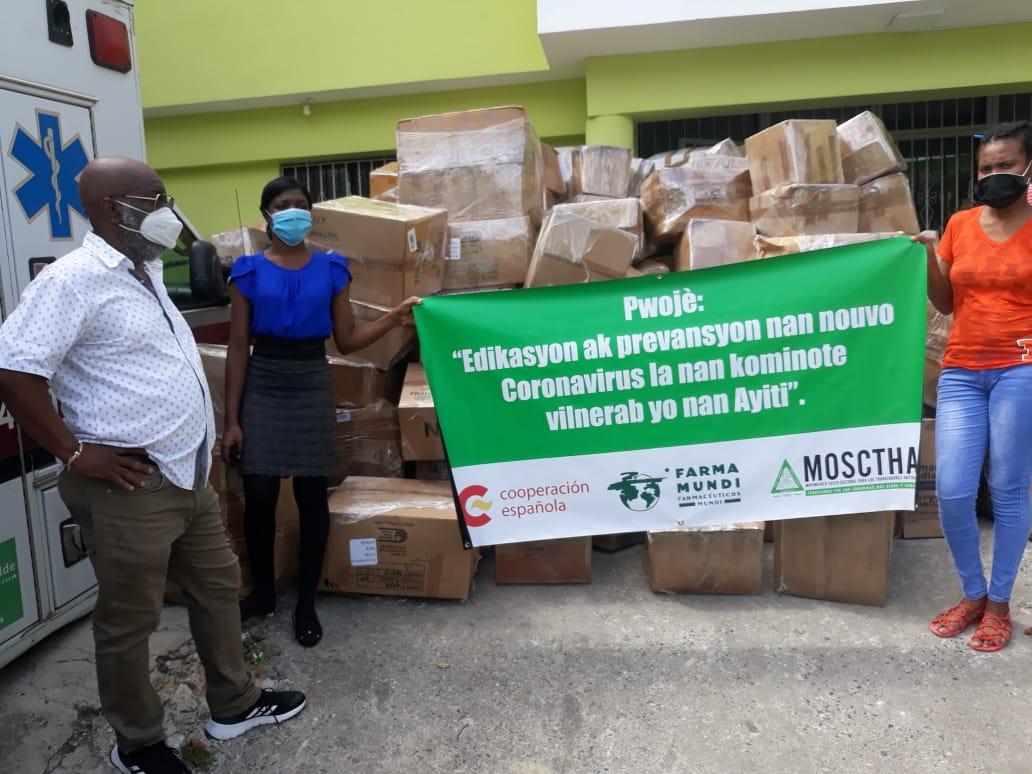 Video | MOSCTHA Y FARMAMUNDI articulan esfuerzos para la prevención del COVID-19 en comunidades vulnerables de Haití